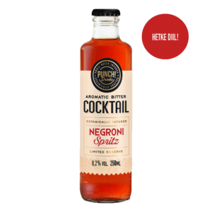 Negroni Spritz cocktail by Punch Drinks