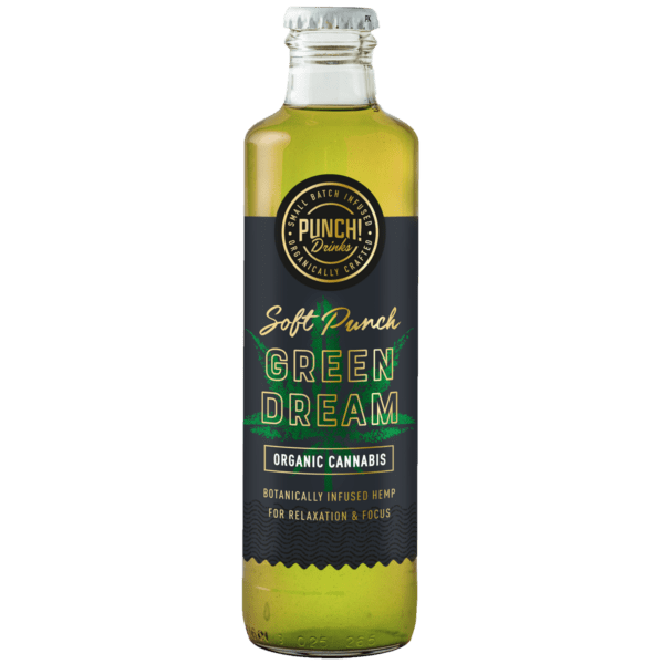 Soft Punch! Green Dream a cannabis infused drink